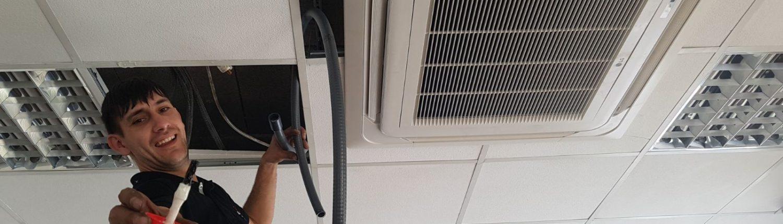 Peluqueria aire acondicionado